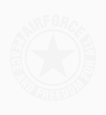 T-shirt Airforce upsidedown