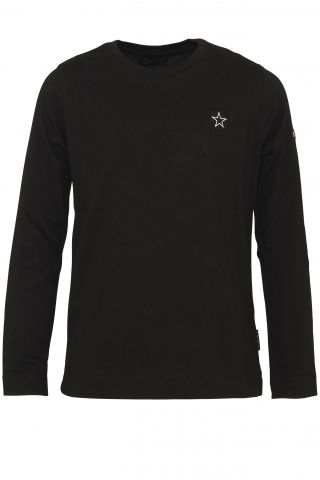 EMBROIDERY OUTLINE STAR LONGSLEEVE