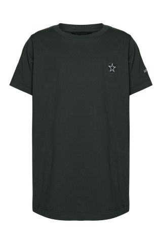EMBROIDERY OUTLINE STAR T-SHIRT