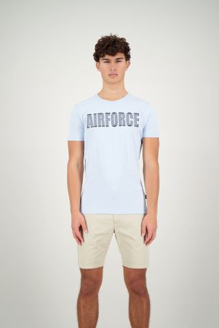 AIRFORCE BLACK REFLECTION T-SHIRT