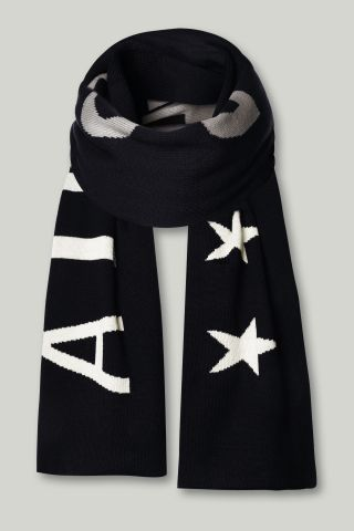 KNITWEAR AIRFORCE SCARF