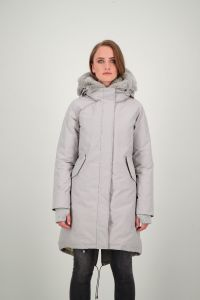 DOUBLE ZIP FISHTAIL PARKA