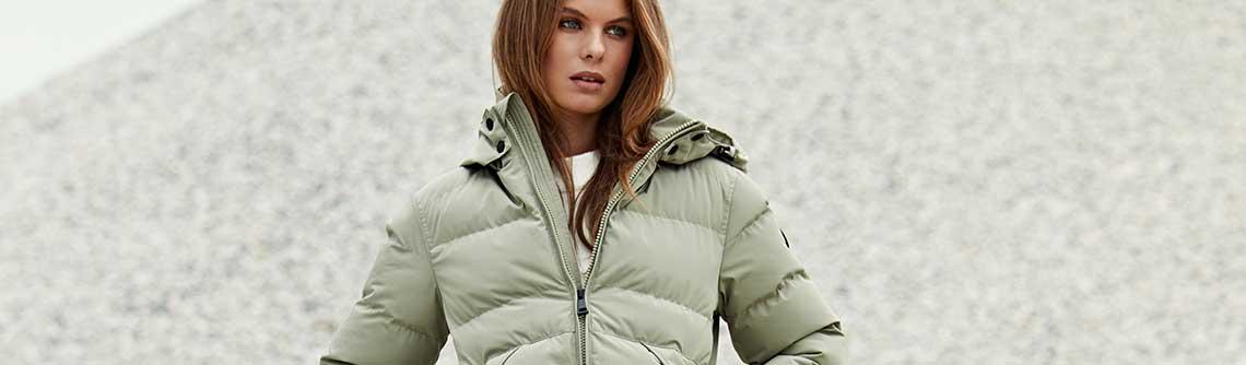 Gewatteerde jas online kopen