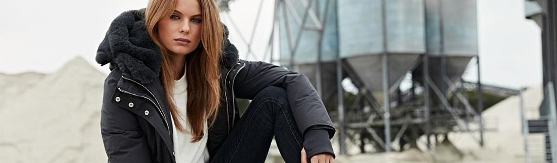 Luxe winterjas online kopen