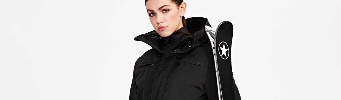 Een mooie winterjas voor na het skiën